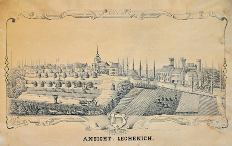 Historische Ansicht von Lechenich