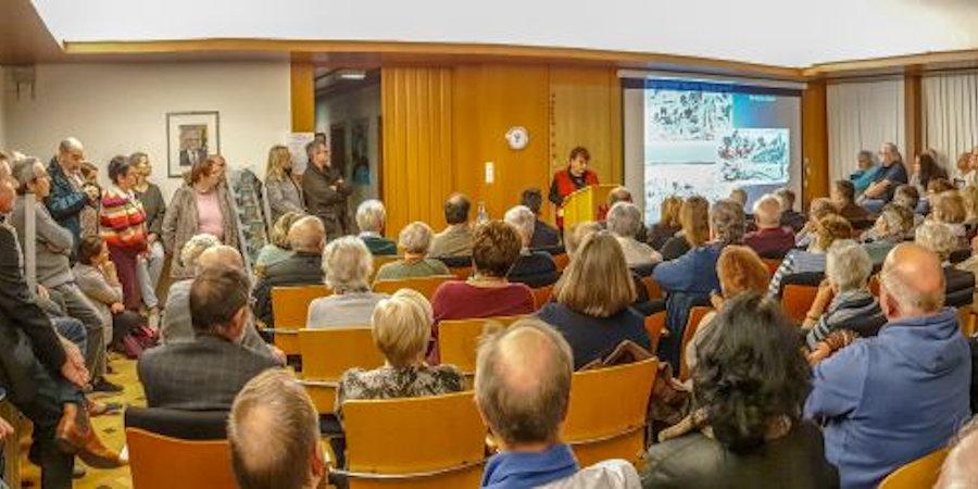 Foto vom Vortrag in Schmidtheim