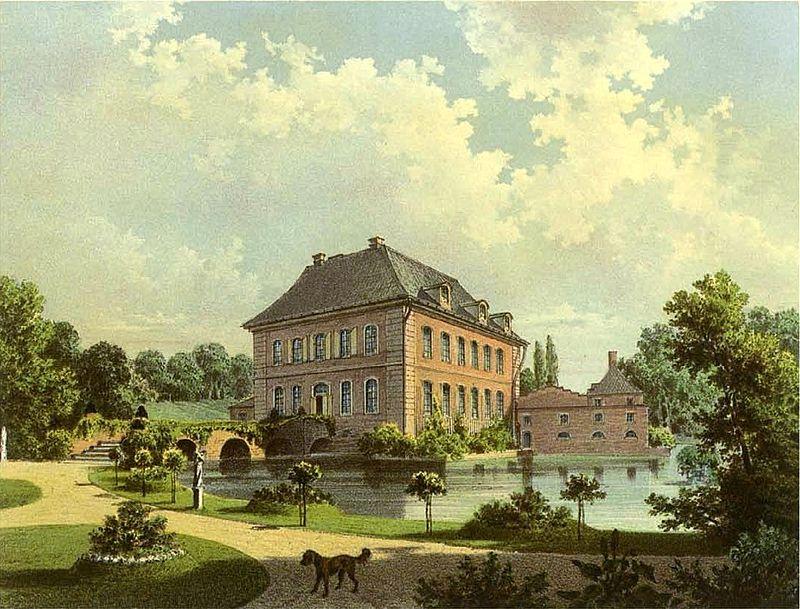 Burg Müddersheim aus der Sammlung Alexander Duncker ca. 1862