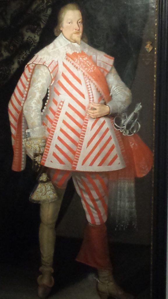 Portrait des Johann Arnold im Gildehaus des EifelMuseums Blankenheim