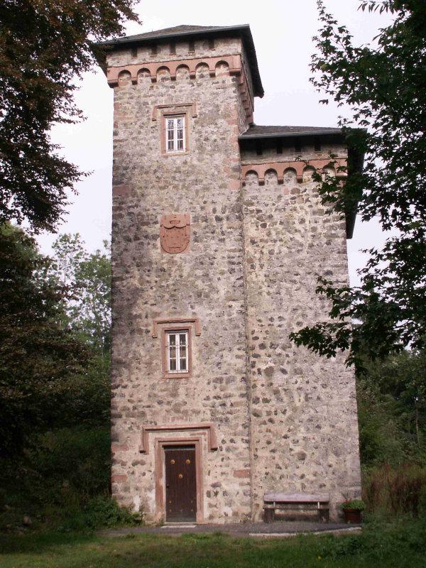Ruine der Burg Aremberg