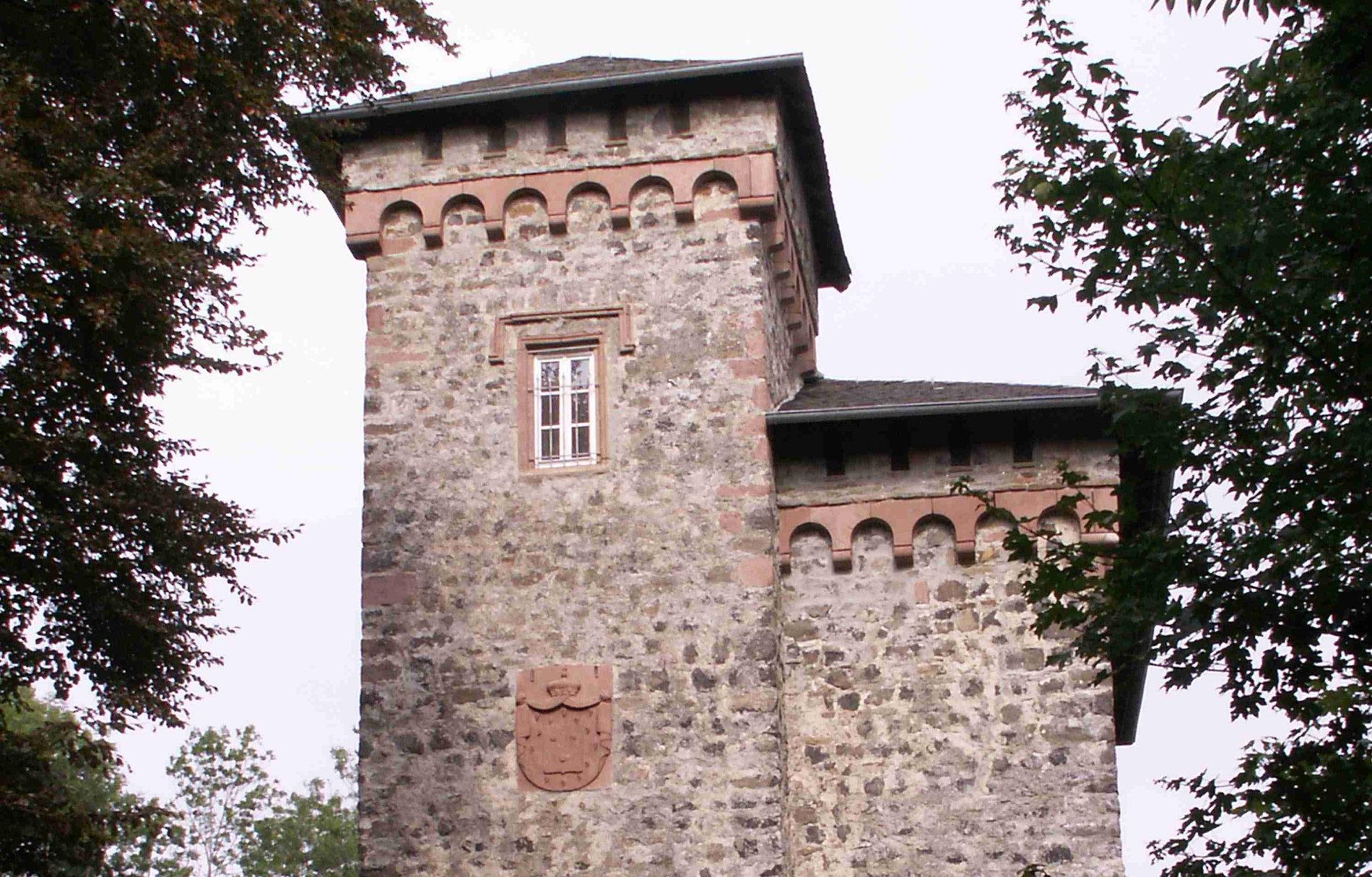 Ruine der Burg Aremberg (Ausschnitt)