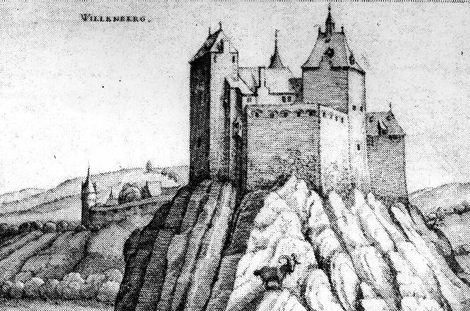 Stich der Wildenburg 1618